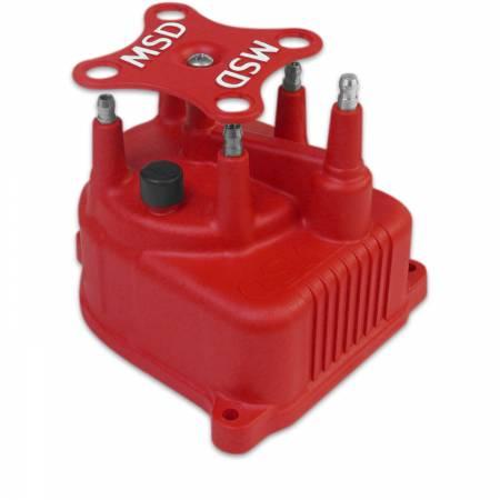 MSD - MSD 82922 - Distributor Cap, Modified for Honda Civic 1.5/6L '92-'00 Red