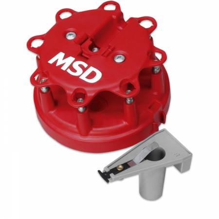 MSD - MSD 8450 - Distributor Cap/Rotor Kit, Ford Duraspark