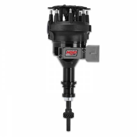 MSD - MSD 84563 - Ford 5.0L Black Pro-Billet Distributor