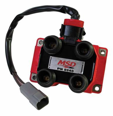 MSD - MSD 8240 - Ford DIS Coil Pack for Midget Ignition