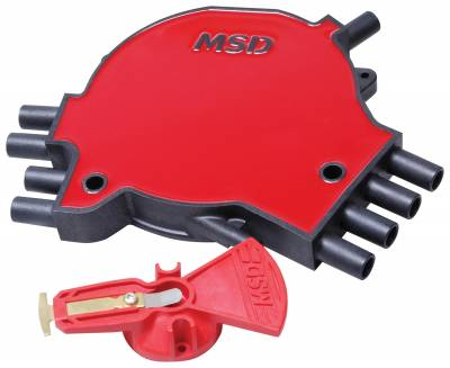 MSD - MSD 8481 - LT1 Distributor Cap & Rotor Kit, '92-'94 GM, LT1, 350/5.7L SFI