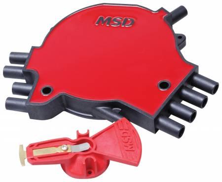 MSD - MSD 84811 - LT1 Distributor Cap & Rotor Kit, '95-'97 GM, LT1, 350/5.7L SFI