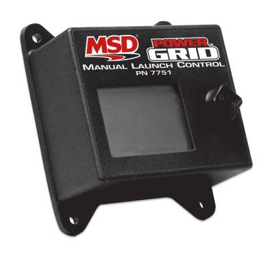 MSD - MSD 7751 - Manual Launch Control Module for Power Grid System