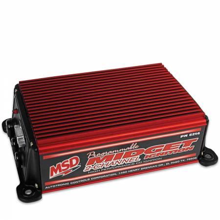 MSD - MSD 6214 - Midget DIS-2 Programmable Race Ignition
