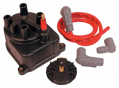 MSD - MSD 82903 - Modified Distributor Cap and Rotor for Honda Civic/CRX 88-91 1.5/1.6L