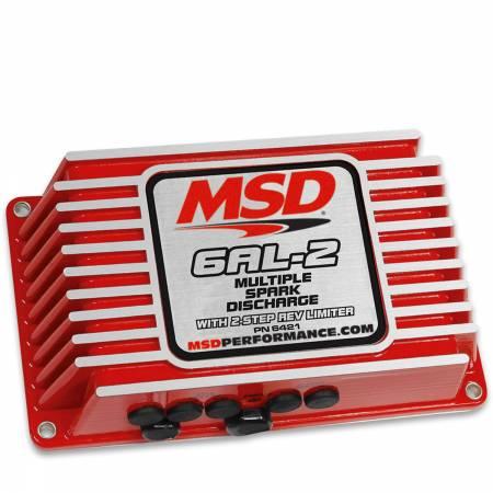 MSD - MSD 6421 - MSD 6AL-2 Ignition Control