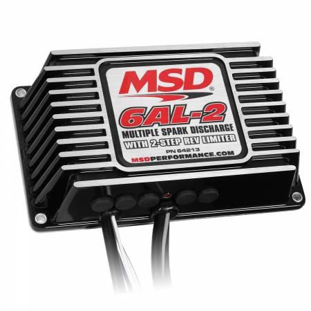 MSD - MSD 64213 - MSD 6AL-2 Ignition Control-Black