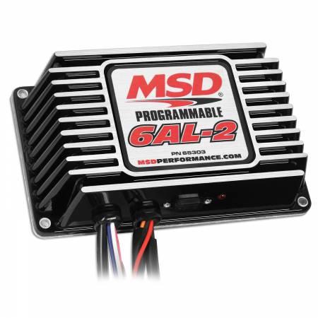 MSD - MSD 65303 - MSD Black Digital Programmable 6AL-2