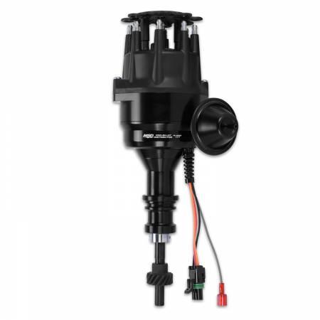 MSD - MSD 83523 - MSD Black Ford 289/302 Ready-To-Run Distributor