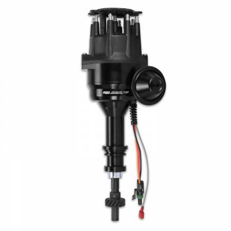 MSD - MSD 83503 - MSD Black Ford 351C - 460 Ready-To-Run Distributor