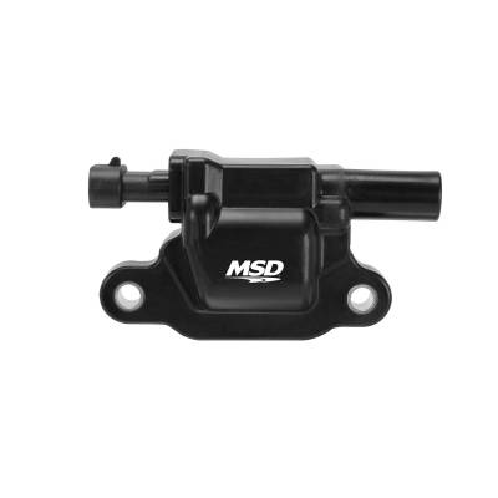 MSD - MSD 82653 - MSD Black GM L-Series Truck Single Coil, '05-'09