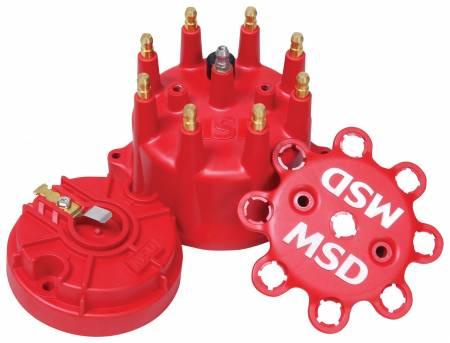 MSD - MSD 84315 - MSD Red Cap/Rotor Kit