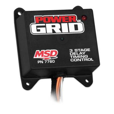 MSD - MSD 7760 - Power Grid Programmable 3 Stage Delay Timer