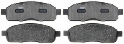 ACDelco - ACDelco Advantage Semi-Metallic Front Disc Brake Pad Set with Hardware 14D1083MH