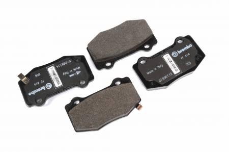 ACDelco - ACDelco GM Original Equipment Rear Disc Brake Pad Set 171-1127