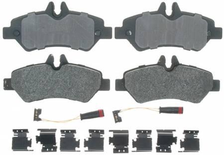 ACDelco - ACDelco Professional Semi-Metallic Rear Disc Brake Pad Set 17D1317MH