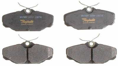 ACDelco - ACDelco Professional Ceramic Rear Disc Brake Pad Set 17D610C