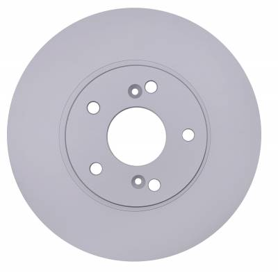 ACDelco - ACDelco Advantage Coated Front Disc Brake Rotor 18A1095AC