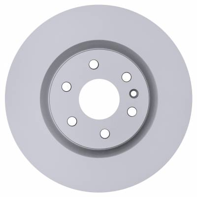 ACDelco - ACDelco Advantage Coated Front Disc Brake Rotor 18A2726AC