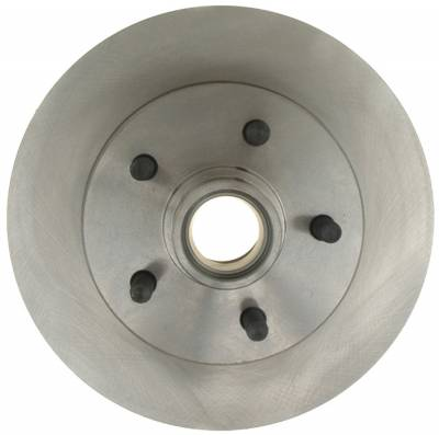 ACDelco - ACDelco Advantage Non-Coated Front Disc Brake Rotor and Hub Assembly 18A296A
