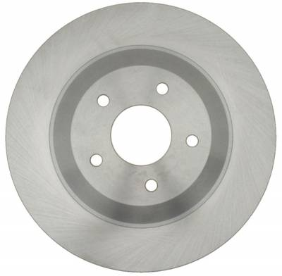 ACDelco - ACDelco Advantage Non-Coated Front Driver Side Disc Brake Rotor 18A947A