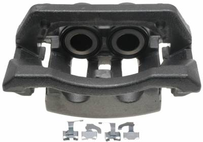 ACDelco - ACDelco Professional Rear Driver Side Disc Brake Caliper Assembly without Pads (Friction Ready Non-Coated) 18FR2618