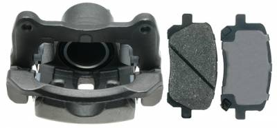 ACDelco - ACDelco Professional Front Passenger Side Disc Brake Caliper Assembly with Pads (Loaded) 18R2002