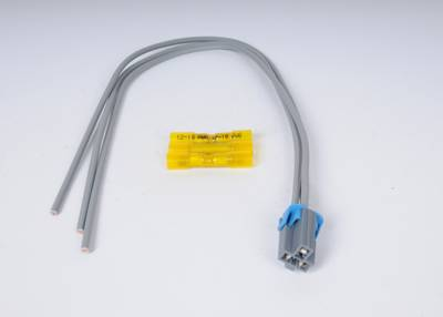 ACDelco PT2604 3-Way Wiring Harness Gray Connector ... on
