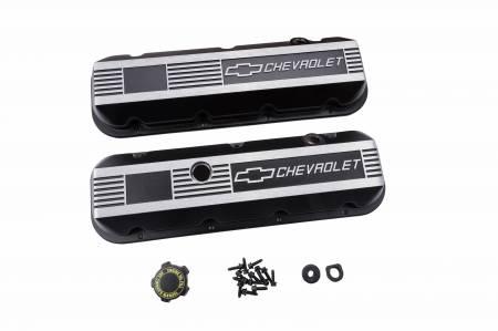 Chevrolet Performance - Chevrolet Performance 12495488 - Custom Aluminum Valve Covers