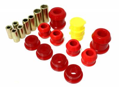 Energy Suspension - Energy Suspension 16.3105R - FRONT CONTROL ARM BUSHING SET