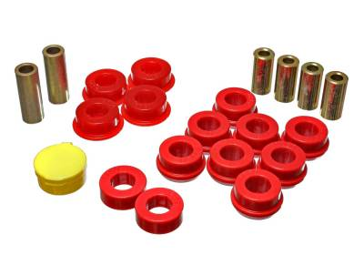 Energy Suspension - Energy Suspension 16.3110R - FRONT CONTROL ARM BUSHING SET