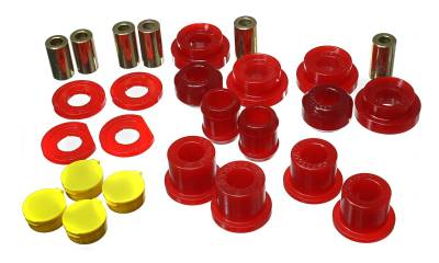 Energy Suspension - Energy Suspension 16.3123R - REAR CONTROL ARM BUSHING SET