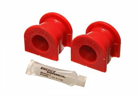 Energy Suspension - Energy Suspension 16.5141R - FT SWAY BAR BUSHING SET 27.2mm