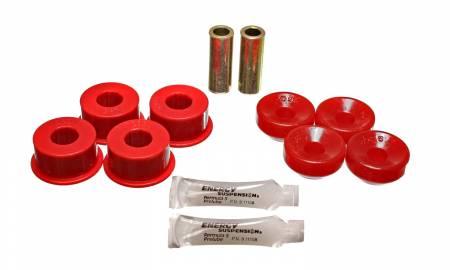 Energy Suspension - Energy Suspension 16.8106R - FRONT SHOCK BUSHINGS