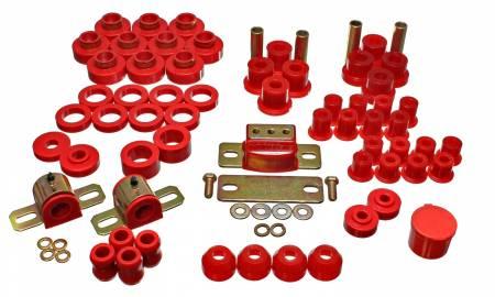 Energy Suspension - Energy Suspension 2.18102R - JEEP CJ5/CJ7 MASTER KIT