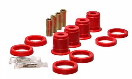 Energy Suspension - Energy Suspension 2.3105R - FRONT CONTROL ARM BUSHING SET