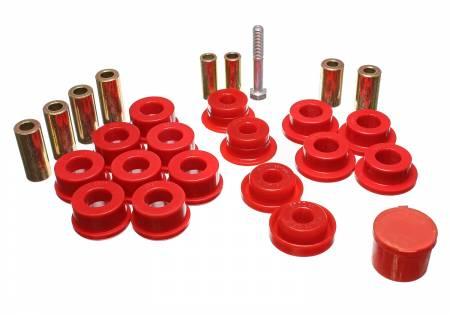 Energy Suspension - Energy Suspension 2.3108R - CONTROL ARM BUSHINGS-FRONT