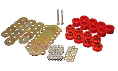 Energy Suspension - Energy Suspension 2.4111R - BODY MOUNT SET W/HARDWARE