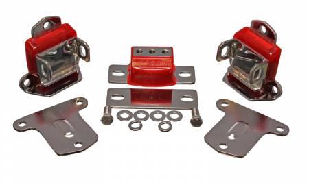 Energy Suspension - Energy Suspension 3.1133R - CHROME ENGINE/TRANS MNT