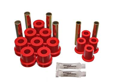 Energy Suspension - Energy Suspension 3.2130R - GM 4WD FRT SPRING/SHACKLE BUSHING