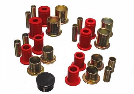 Energy Suspension - Energy Suspension 3.3106R - CONTROL ARM BUSHING SET