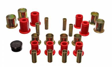 Energy Suspension - Energy Suspension 3.3113R - CONTROL ARM BUSHING SET