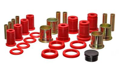 Energy Suspension - Energy Suspension 3.3140R - CONTROL ARM BUSHING SET