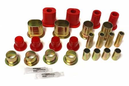 Energy Suspension - Energy Suspension 3.3172R - CONTROL ARM BUSHING SET