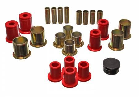 Energy Suspension - Energy Suspension 3.3173R - CONTROL ARM BUSHING SET