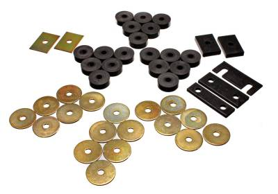 Energy Suspension - Energy Suspension 3.4119G - GM BODY MOUNT SET