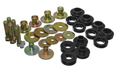 Energy Suspension - Energy Suspension 3.4157G - SUBFRAME BUSHING SET