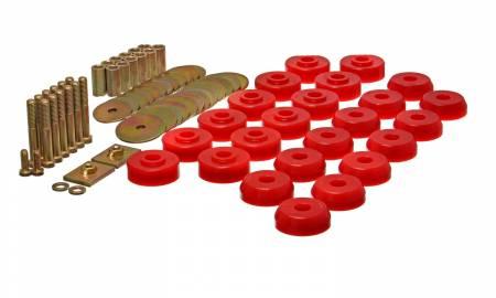 Energy Suspension - Energy Suspension 3.4167R - BODY MOUNT SET CONVERTIBLE