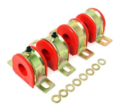 Energy Suspension - Energy Suspension 3.5176R - 1-1/8in. GM GREASEABLE SWAY BAR SET