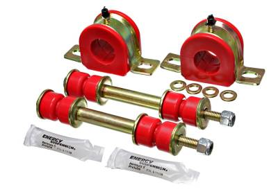 Energy Suspension - Energy Suspension 3.5178R - 1-1/4in. GM GREASEABLE SWAY BAR SET